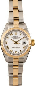 Used Rolex Datejust 79173 Roman Dial