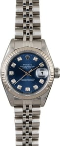 Rolex Datejust 79174 Blue Diamond Dial