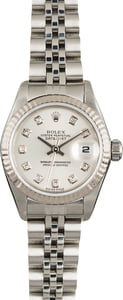 Rolex Datejust 79174 Silver Diamond Dial