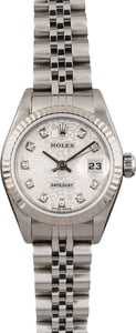 Pre Owned Ladies Rolex Datejust 79174 Jubilee Diamond
