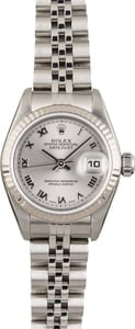 Pre Owned Rolex Datejust 79174 Rhodium Roman Dial