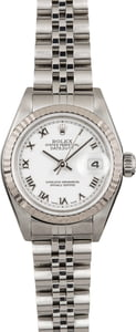 Used Ladies Rolex Datejust 79174 White Dial