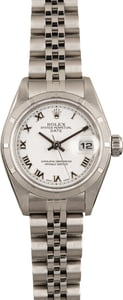 Pre Owned Ladies Rolex Datejust 79190 Stainless Steel