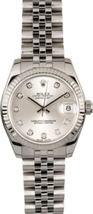 Rolex Datejust Mid-size 178274 Diamond Dial