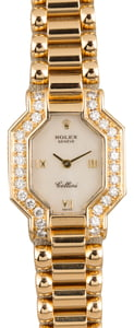 Pre Owned Ladies Rolex Cellini MOP Diamonds