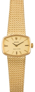 Rolex Yellow Gold Ladies Cocktail Watch