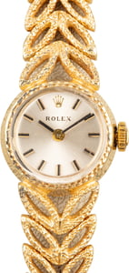 Rolex Ladies Cocktail Watch 14K Gold