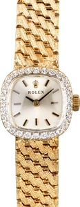 Rolex Ladies Cocktail 8366 Diamond Bezel