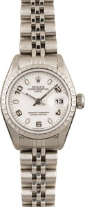 Used Ladies Rolex Date Stainless Steel Model 69240