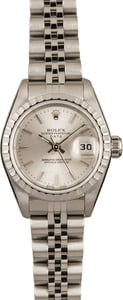Pre-Owned Rolex Ladies Date 79240 Silver Dial