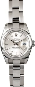 Rolex Ladies Datejust 179160 Silver Dial