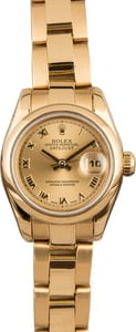 Used Rolex Ladies Datejust 179168