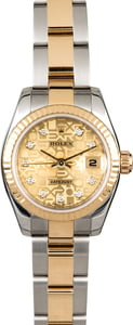 Rolex Ladies Datejust 179173 Two Tone with Diamonds