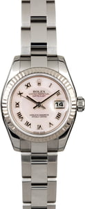 Rolex Ladies Datejust 179174 MOP Dial Steel Oyster