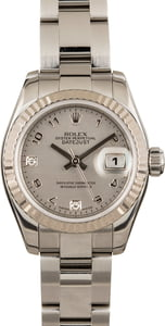 Ladies Rolex 179174 Diamond Dial