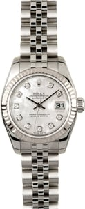 Rolex Ladies Datejust 179174 Diamond