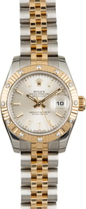 Two Tone Rolex Ladies Datejust 179313 Certified Pre Owned