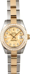 Rolex Ladies Datejust 179383 Crystal Diamond Dial