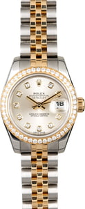 Rolex Ladies Datejust 179383 Diamond Bezel