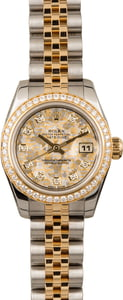 Pre Owned Rolex Ladies Datejust 179383 Crystal Diamond Dial