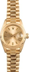 Rolex Ladies Datejust 6917 Vintage Presidential