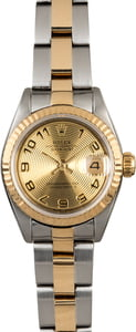 Rolex Ladies Datejust 69173 Two Tone Oyster Band