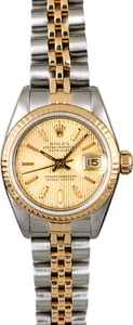 Women's Rolex Datejust 69173 Tapestry Dial