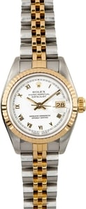 Rolex Ladies Datejust 69173 Certified Pre-Owned