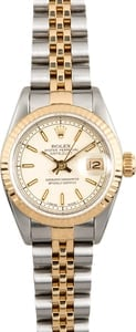 Rolex Ladies Datejust 69173 Ivory Jubilee Dial