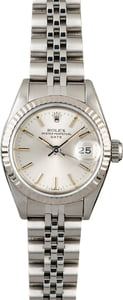 Rolex Ladies Datejust 69174 Silver Dial