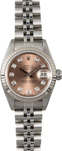 Rolex Ladies Datejust 69174 Diamond Dial
