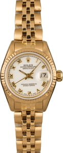 Pre-Owned Rolex Ladies Datejust 69178 Jubilee Bracelet