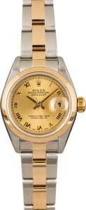 Used Rolex Lady Datejust 79163 Oyster Bracelet