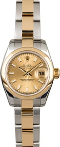 Rolex Datejust 179163 Two Tone Oyster