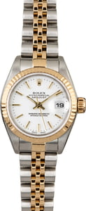 Rolex Ladies Datejust 79173 White Index Dial