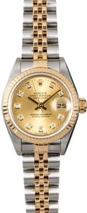 Rolex Ladies Datejust 79173 Champagne Diamond