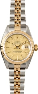 Rolex Ladies Datejust 79173 Linen Dial
