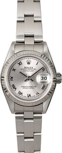 Rolex Ladies Datejust 79174 Silver Roman Dial