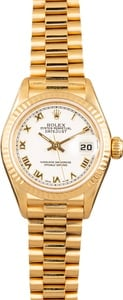 Rolex Ladies President 79178 White