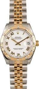 Pre-Owned Rolex Ladies Mid-size Datejust 178313