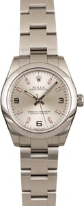 Pre Owned Rolex Ladies Oyster Perpetual 177200 Arabic Dial