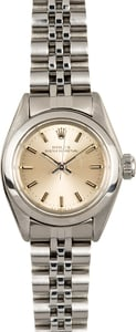 Rolex Ladies Oyster Perpetual 6718 Stainless Steel