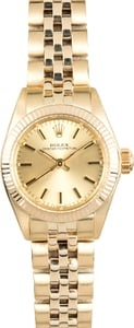 Rolex Ladies Oyster Perpetual 6719 Honeycomb
