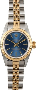 Rolex Ladies Oyster Perpetual 67193 Blue
