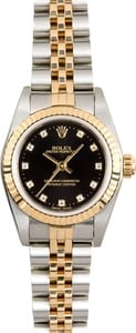 Rolex Ladies Oyster Perpetual 76193 Diamond