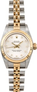 Rolex Ladies Oyster Perpetual 76193 Diamonds