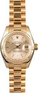 Rolex Ladies President 179178 Silver Dial