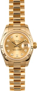 Rolex Ladies President 179178 Certified Pre-Owned
