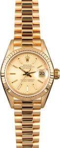 Rolex Ladies President 69178 Champagne Tapestry