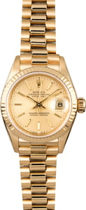 Rolex President 69178 Champagne Tapestry